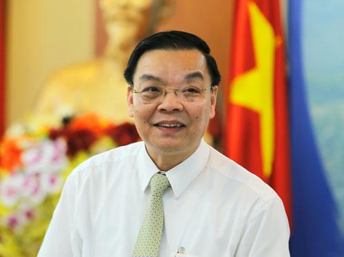 Bộ trưởng Chu Ngọc Anh. Ảnh: Loan Lê.