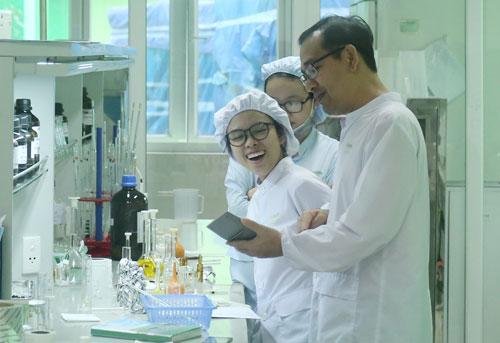 Trung tâm R&D của doanh nghiệpdược tại Đà Nẵng. Ảnh: Loan Lê.