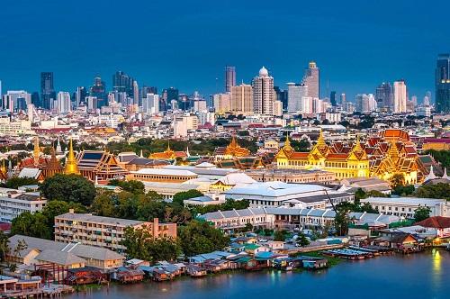 Một góc Bangkok. Ảnh:Bangkok magazine