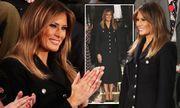 Melania Trump mặc áo gần 2.000 USD tới nghe Thông điệp liên bang