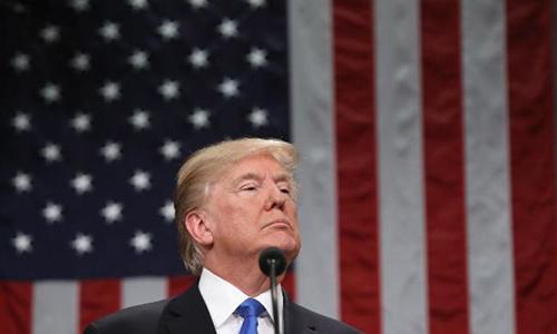 Tổng thống Mỹ Donald Trump. Ảnh: CNN.