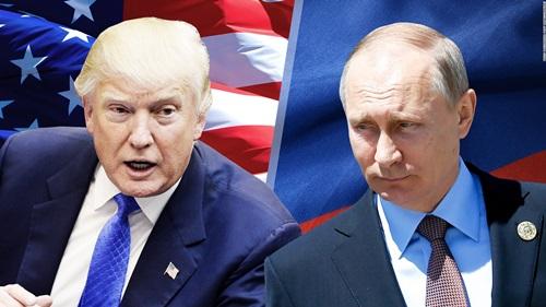 Tổng thống MỹTrump (trái) và Tổng thống Nga Putin. Ảnh: CNN.