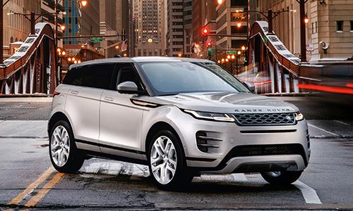 Range Rover Evoque 2020 giá từ 42.600 USD tại Mỹ.