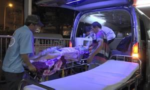 1.530 trường hợp cấp cứu ở Sài Gòn do tai nạn giao thông dịp Tết