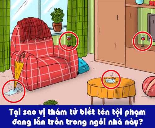Tại sao thám tử biết tên tội phạm đang ở trong căn phòng? - page 2