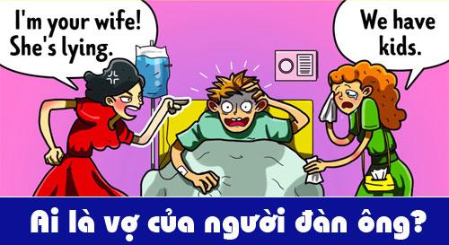 Ai là vợ của người đàn ông mất trí?