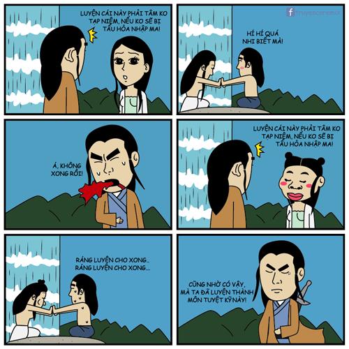 Lý do Dương Quá luyện thành công Ngọc nữ tâm kinh