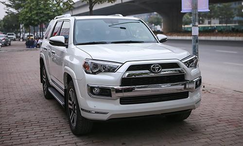Toyota 4Runner 2018 bản Limited nhập khẩu tư nhân về Việt Nam.