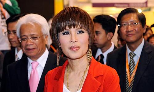 Công chúa Thái Lan Ubolratana. Ảnh: AFP.