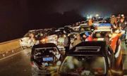 Hơn 100 xe đâm liên hoàn trên cao tốc ở Trung Quốc