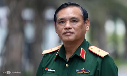 Thiếu tướng Nguyễn Hồng Quân. Ảnh: Gia Chính.