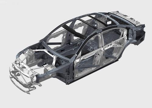Khung sườn Carbon Core trên BMW Series 7 hoàn toàn mới giúp thân xe nhẹ hơn 81kg. Ảnh: BMW Blog.