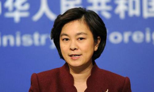 Phát ngôn viên Bộ Ngoại giao Trung Quốc Hoa Xuân Oánh. Ảnh: Reuters.