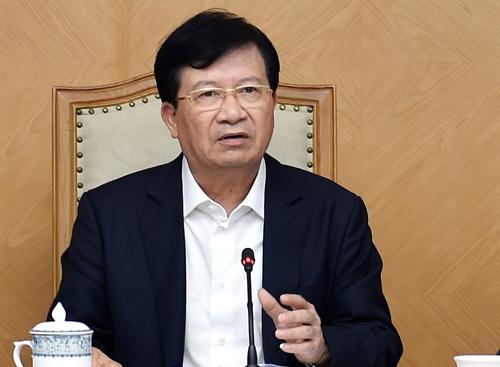 Phó Thủ tướng Trịnh Đình Dũng. Ảnh: VGP.