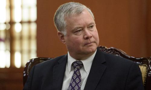 Đặc phái viên Mỹ về vấn đề Triều Tiên Stephen Biegun. Ảnh: Reuters.