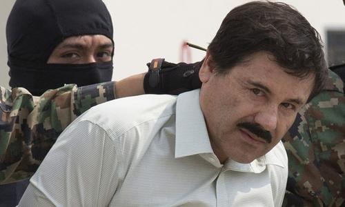 Guzman khi bị bắt ở Mexico năm 2014. Ảnh: AFP.