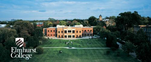 Toàn cảnh trường đại học Elmhurst.