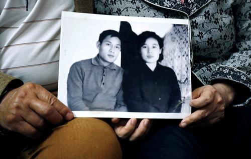 Bức ảnh hai người chụp năm 1971. Ảnh: Reuters.