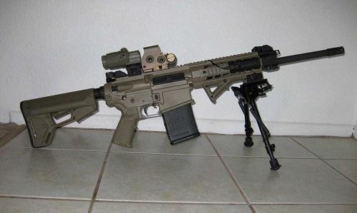 Một khẩu SIG 716. Ảnh: Indian Defense.