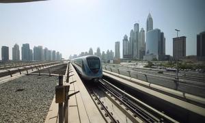 Hệ thống metro không người lái dài nhất thế giới tại Dubai