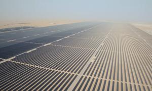 Công viên năng lượng mặt trời lớn nhất thế giới ở Dubai
