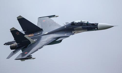 Tiêm kích Su-30SM của không quân Nga. Ảnh: Russian Planes.