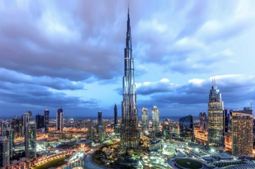 Tháp Burj Khalifa. Ảnh: Gulf Business