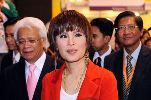 Công chúa Ubolratana. Ảnh: AFP.