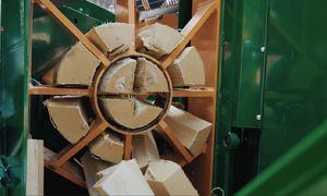 Máy chẻ củi tự động bằng sức ép thủy lực