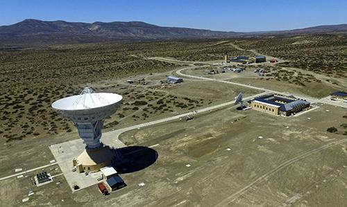 Trạm radar công suất lớn của Trung Quốc tại Argentina. Ảnh: Perfil.