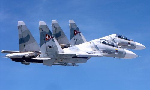 Su-30 Venezuela biểu diễn phóng tên lửa diệt hạm trong tập trận