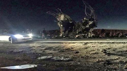 Đống đổ nát tại hiện trường vụ đánh bom ngày 13/2. Ảnh: Reuters.