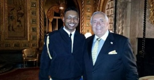 Richard DeAgazio (phải)và Rick. Ảnh: Twitter.