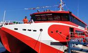 Tàu cao tốc lớn nhất nước chạy từ Vũng Tàu ra Côn Đảo chỉ 3 giờ