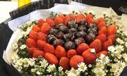 'Hoa ăn được' hút khách dịp Valentine