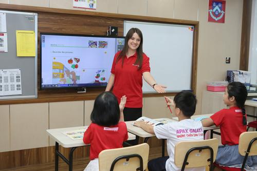 Chương trình học hướng đến tính chủ động cho học sinh.