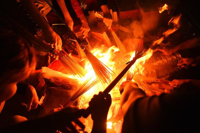 Tục xin lửa đình làng của người Hà Nội