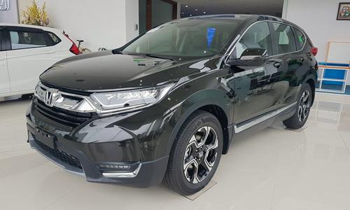 Trước Tết, Honda CR-V có giá chênh vài chục triệu đồng nhưng hiện được bán ở mức giá niêm yết.