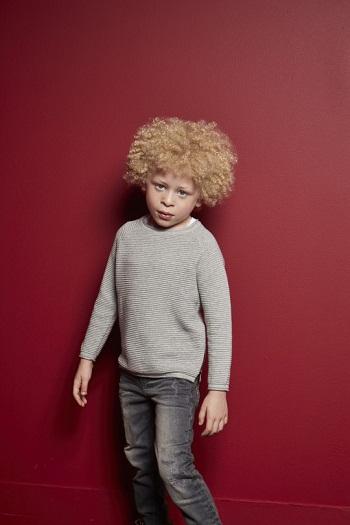 Elijah làm mẫu thời trang. Ảnh: Primark