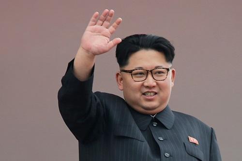 Lãnh đạo Triều Tiên Kim Jong-un. Ảnh:AP.