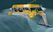 Robot hỗ trợ lắp cáp điện ngầm 500 kV dài nhất thế giới