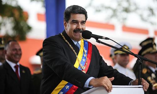 Tổng thống VenezuelaNicolas Maduro.Ảnh: AFP.