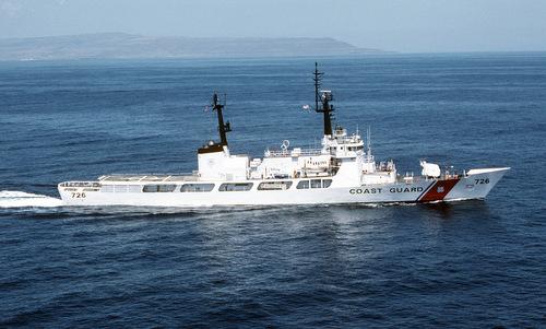 Một tàu tuần tra lớp Hamilton của Tuần duyên Mỹ. Ảnh: USGC.