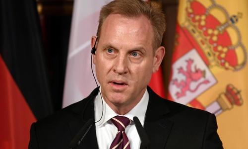 Quyền Bộ trưởng Quốc phòng Mỹ Patrick Shanahan. Ảnh: Reuters.