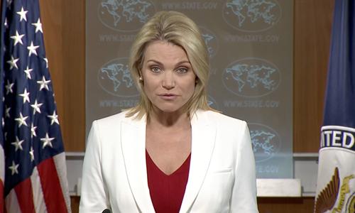Heather Nauert, người được Tổng thống Donald Trump lựa chọn trở thành đại sứ Mỹ tại Liên Hợp Quốc. Ảnh: Reuters.