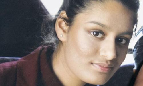 Shamima Begum mới 15 tuổi và đang sống ở London khi trốn khỏi Anh năm 2015. Ảnh: BBC.