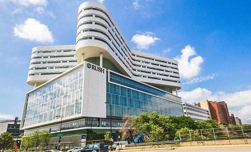 Trung tâm Y khoa thuộc Đại học Rush. Ảnh: HIT Consultant