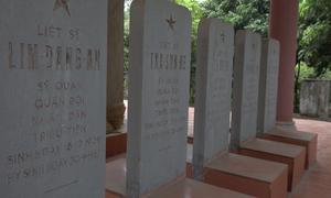 Nghĩa trang tưởng niệm 14 phi công Triều Tiên hi sinh ở Việt Nam