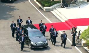 Xe bọc thép S600 Pullman của ông Kim Jong-un có gì đặc biệt?