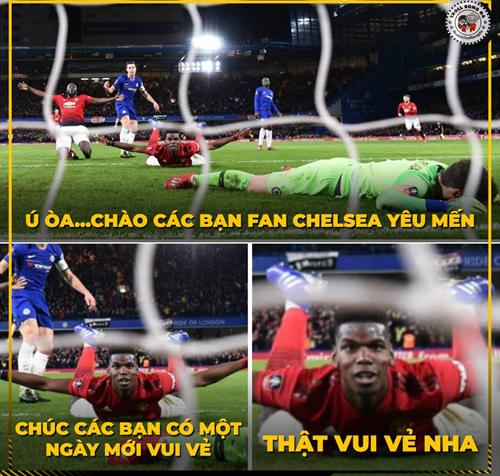 Fan Chelsea không thích điều này.